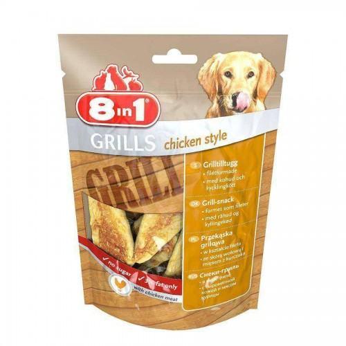 8 in 1 Grills Chicken Style Fileto Köpek Ödülü 80 gr