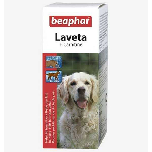 Beaphar Laveta Köpekler için Tüy Dökülmelerine Karşı Ek Besin 50 ml